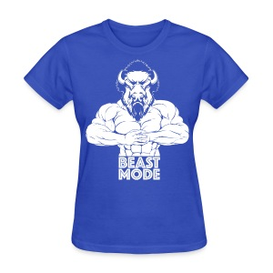 Buff Beast Gym Shirt - Women's T-Shirt
