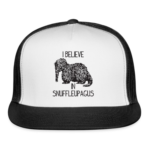 I Believe In Snuffleupagus - Trucker Cap