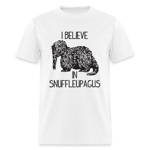 I Believe In Snuffleupagus - Men's T-Shirt