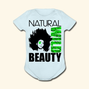 Naturaal Wild Beauty - Short Sleeve Baby Bodysuit