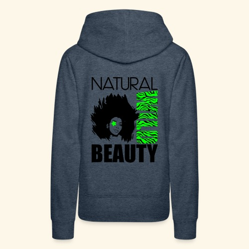 Naturaal Wild Beauty - Women's Premium Hoodie