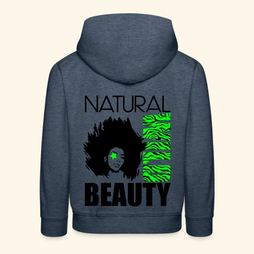 Naturaal Wild Beauty - Kids' Premium Hoodie