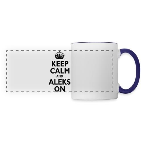Keep Calm & ALEKS On - Panoramic Mug