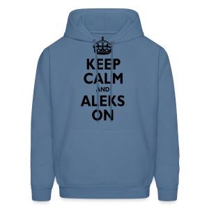 Keep Calm & ALEKS On - Men's Hoodie