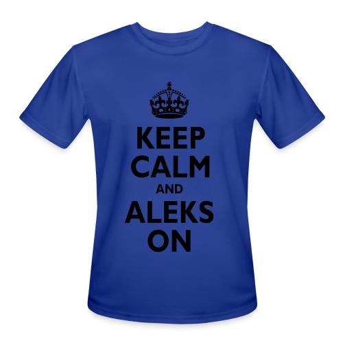 Keep Calm & ALEKS On - Men's Moisture Wicking Performance T-Shirt