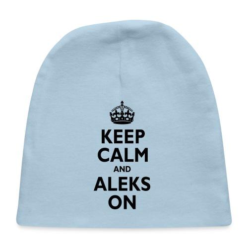 Keep Calm & ALEKS On - Baby Cap