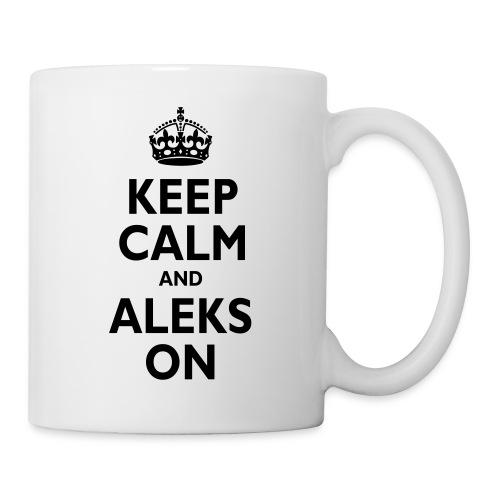 Keep Calm & ALEKS On - Coffee/Tea Mug
