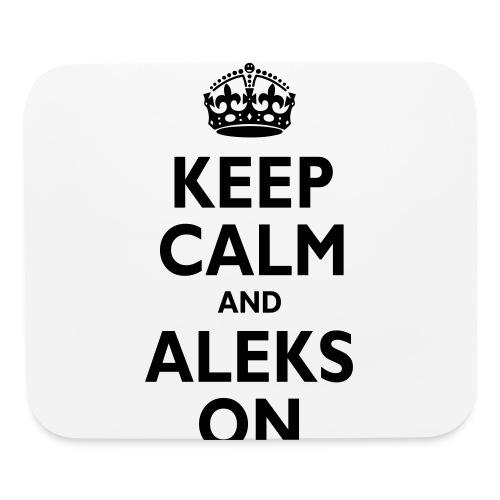 Keep Calm & ALEKS On - Mouse pad Horizontal