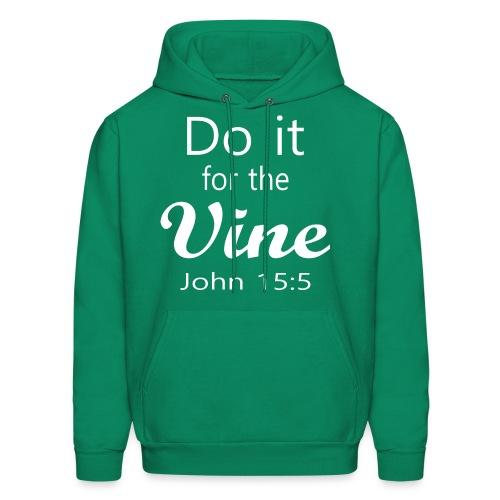 Do It for the Vine John 15:5 (Men) - Men's Hoodie