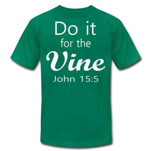 Do It for the Vine John 15:5 (Men) - Men's  Jersey T-Shirt