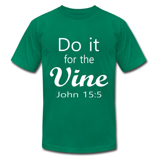 Do It for the Vine John 15:5 (Men) - Men's Fine Jersey T-Shirt