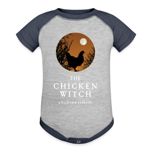 The Chicken Witch - Contrast Baby Bodysuit