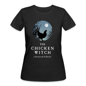 The Chicken Witch - Women's 50/50 T-Shirt