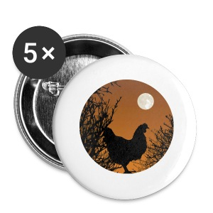The Chicken Witch - Large Buttons