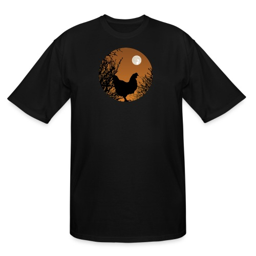 The Chicken Witch - Men's Tall T-Shirt