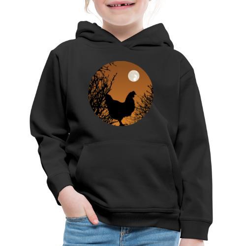 The Chicken Witch - Kids' Premium Hoodie