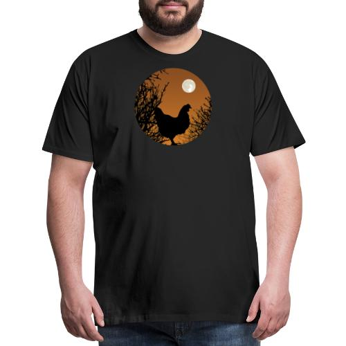 The Chicken Witch - Men's Premium T-Shirt