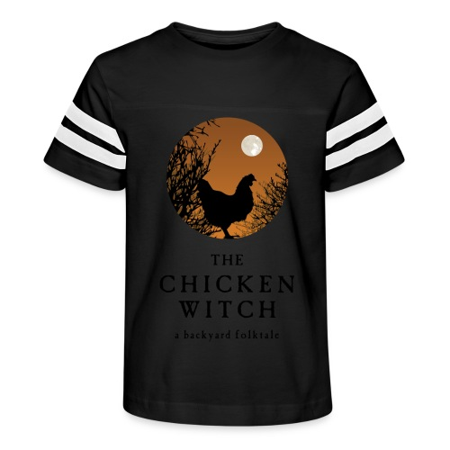 The Chicken Witch - Kid's Vintage Sport T-Shirt