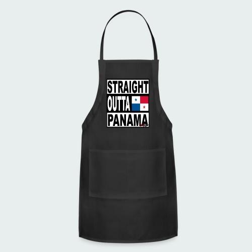 Straight Outta Panama (White) - Adjustable Apron