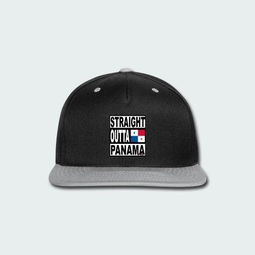 Straight Outta Panama (White) - Snap-back Baseball Cap