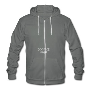 Claymore Mine - Unisex Fleece Zip Hoodie by American Apparel