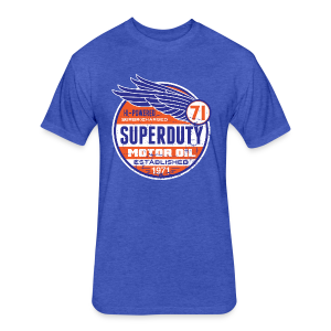 Superduty oil - Fitted Cotton/Poly T-Shirt by Next Level