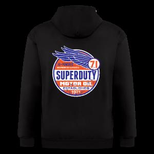 Superduty oil - Men's Zip Hoodie