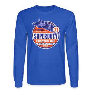 Superduty oil - Men's Long Sleeve T-Shirt