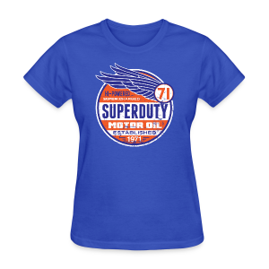 Superduty oil - Women's T-Shirt