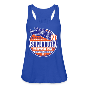 Superduty oil - Women's Flowy Tank Top by Bella