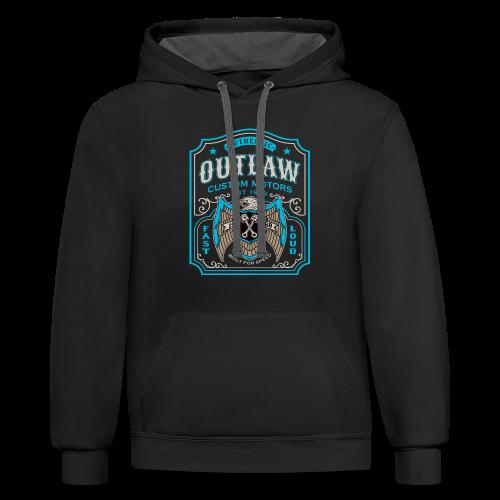Outlaw Motors - Contrast Hoodie