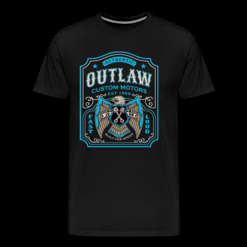 Outlaw Motors - Men's Premium T-Shirt