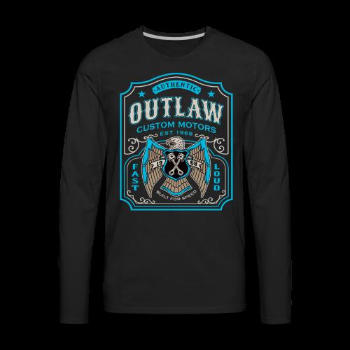 Outlaw Motors - Men's Premium Long Sleeve T-Shirt
