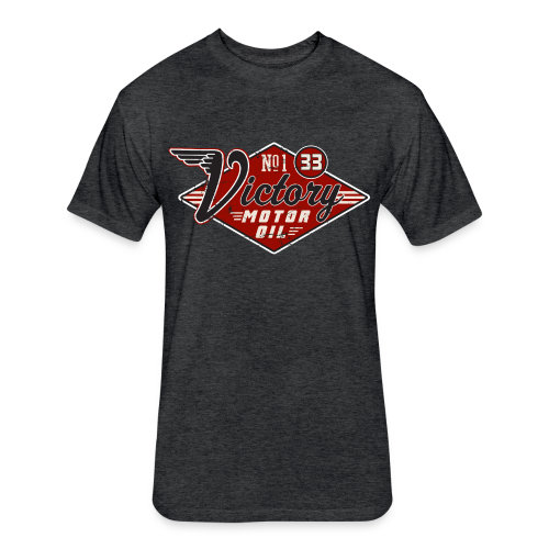 Victory Motor Oil - Fitted Cotton/Poly T-Shirt by Next Level