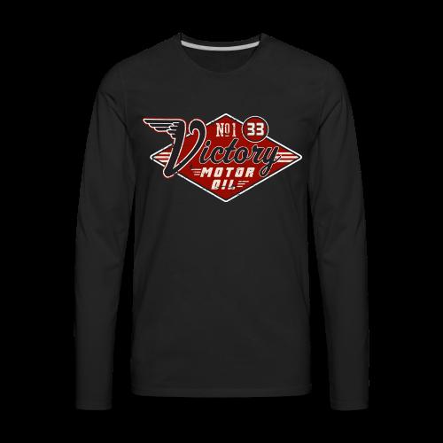 Victory Motor Oil - Men's Premium Long Sleeve T-Shirt