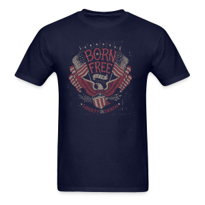 Born Free - Men's T-Shirt