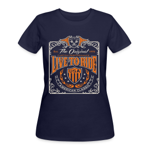 Live to Ride - Women's 50/50 T-Shirt