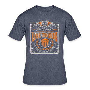 Live to Ride - Men's 50/50 T-Shirt