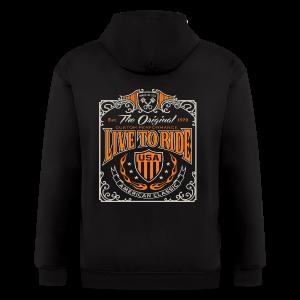 Live to Ride - Men's Zip Hoodie