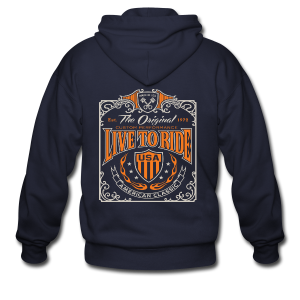 Live to Ride - Men's Zip Hoodie