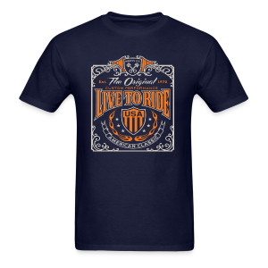 Live to Ride - Men's T-Shirt