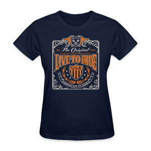 Live to Ride - Women's T-Shirt