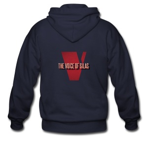 Voice of Silas Men's T-Shirt - Men's Zip Hoodie