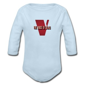 Voice of Silas Men's T-Shirt - Long Sleeve Baby Bodysuit