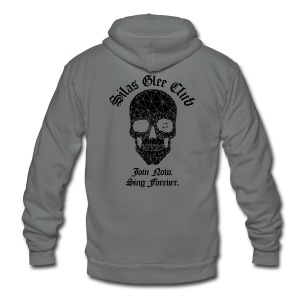 Silas Glee Club Men's T-Shirt - Unisex Fleece Zip Hoodie by American Apparel
