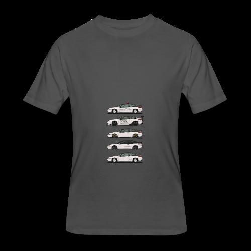 Stack of Pearl White Subaru Alcyone SVX - Men's 50/50 T-Shirt