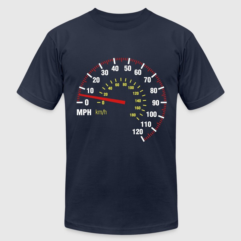 Speedometer T-Shirts - Men's T-Shirt by American Apparel
