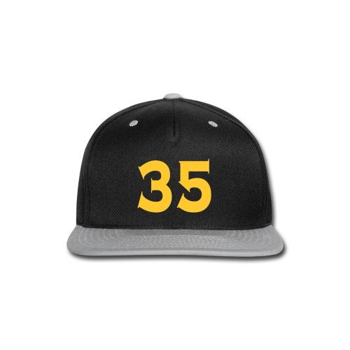 Ladies 35 Tshirt - Snap-back Baseball Cap