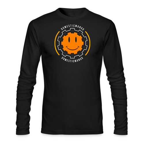 Main Logo Front #1 - Men's Long Sleeve T-Shirt by Next Level