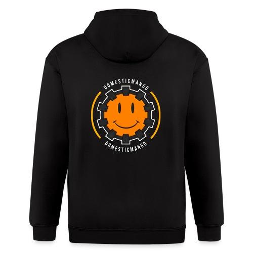 Main Logo Front #1 - Men's Zip Hoodie